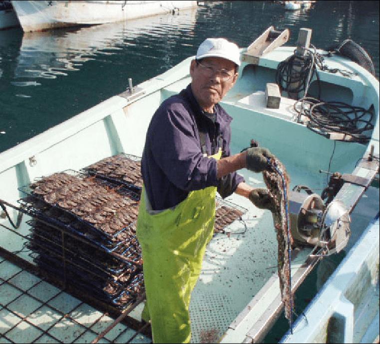 土居真珠社長と他スタッフの写真